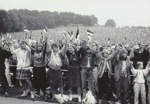 Picture of the Estonian Song Festival